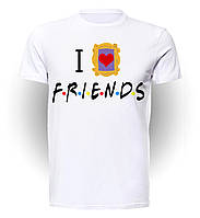 Футболка мужская размер L GeekLand Друзья Friends Love you too F.01.017