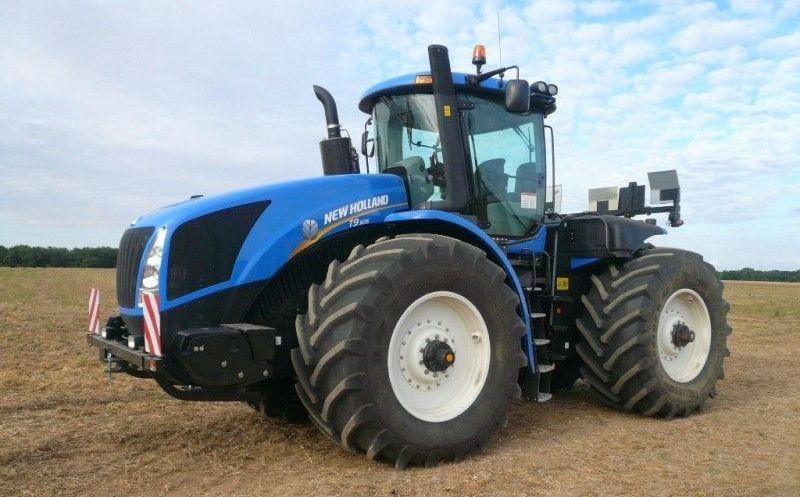 Характеристики и модельный ряд тракторов Нью Холланд
