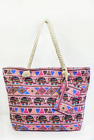 Пляжная сумка Пиза розовая