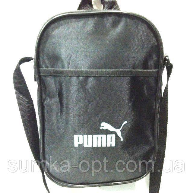 Текстильные барсетки Puma (черный)18*27