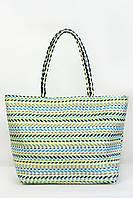 Пляжная сумка Верона бирюзовая