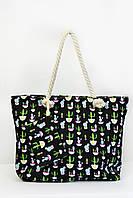 Пляжная сумка Пиза черная