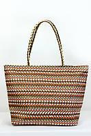 Пляжная сумка Верона шоколадная