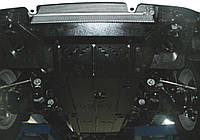 Защита картера Ssаng Yong Rexton W2013- 2,7TDI, радіат./двиг./КПП (Санг Енг Рекстон) (Kolchuga)