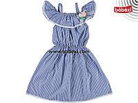 Новинка!!Стильний летний сарафан, платье для девочки 7 лет!!Турция!!!Платье, юбка, сарафан лето