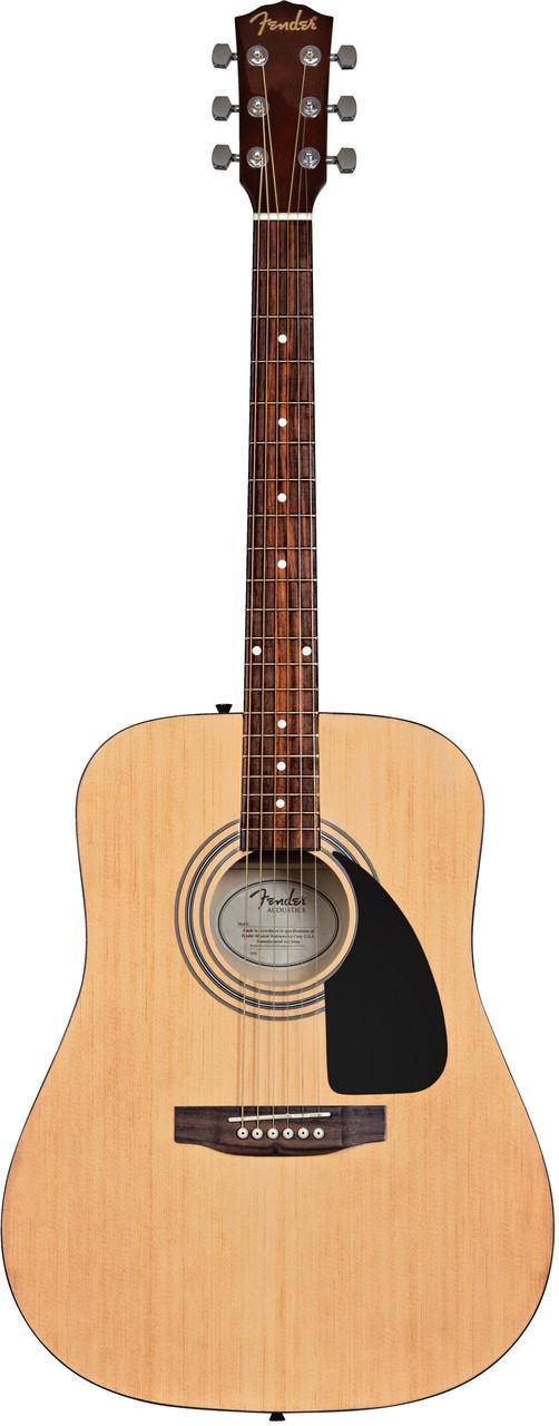 Гітарний набір: акустична гітара FENDER FA-115 pk+ чохол та ремінь