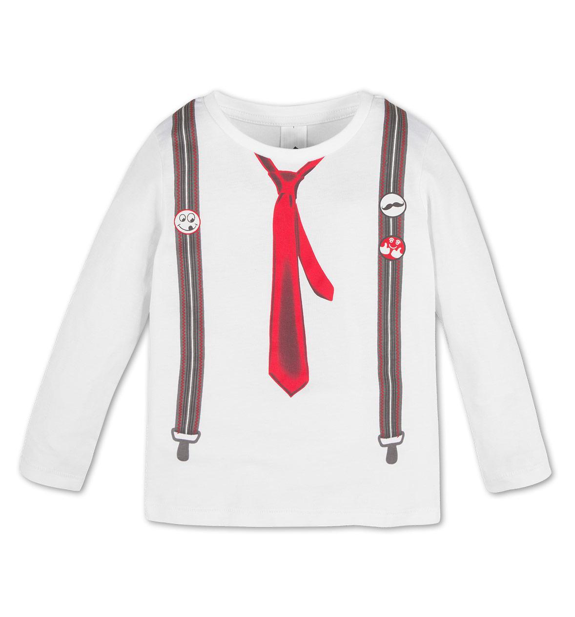 Стильный реглан с галстуком на мальчика C&A Германия Размер 104