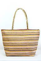 Пляжная сумка Верона капучиновая