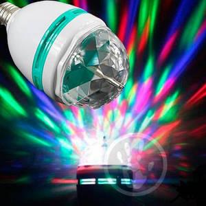 Большая вращающаяся диско лампа