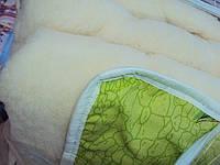 """Одеяло шерстяное открытое """"Руно"""" двуспальное только оптом без чемодана, фото 1"""