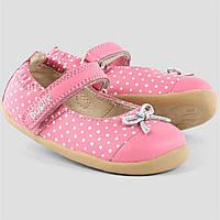 Bobux.Дитяче шкіряне взуття балетки -туфлі.Оригінал.Розмір - 21 (UK4.5 )