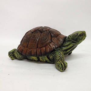 Садовая фигура Черепаха маленькая 10 см
