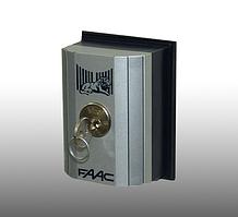 Ключ-выключатель Faac T10E накладной