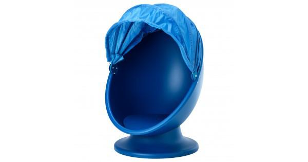 ИКЕА ПС ЛЁМСК Вращающееся кресло, синий, голубой 00322524 ИКЕА, IKEA, IKEA PS LOMSK