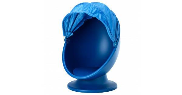 ИКЕА ПС ЛЁМСК Вращающееся кресло, синий, голубой 00322524 ИКЕА, IKEA, IKEA PS LOMSK, фото 2