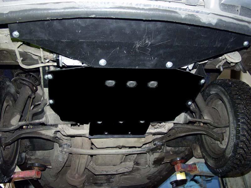 Защита двигателя Volvo 940 1991-1998 V-2,3,двигун, КПП, радіатор (Вольво 940) (Kolchuga)