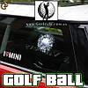 """Наклейка на стекло в виде мяча для гольфа - """"Golf Ball"""""""