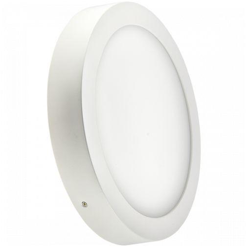 """Светодиодный LED светильник 12 W """"круг"""" 4000К накладной Bellson"""