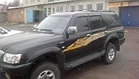 Боковые дефлекторы Great Wall Suv G5 2001-2010/Toyota 4 Ranner/Hilux Surf 1988-1995 (Грейт Вол сув) Cobra Tuni
