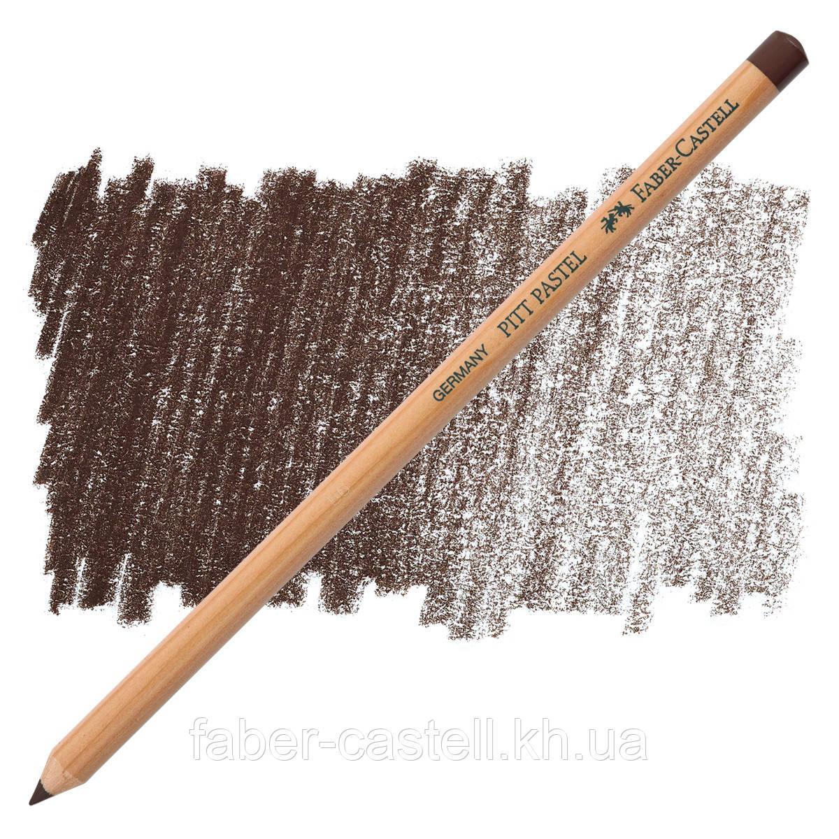Карандаш пастельный Faber-Castell PITT цвет светлая сепия  (pastel walnut brown ) №177, 112277