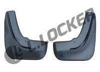 Брызговики Ford Focus II (05-) (Форд Фокус 2) (2 шт) передние (Lada Locker)