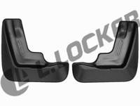 Брызговики Honda Civic HB (12-) (Хонда Сивик) (2 шт) задние (Lada Locker)