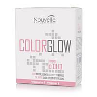 Nouvelle Bagno d'olio Средство для восстановления структуры волос в ампулах,10*10