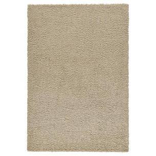 ХАМПЭН Ковер, длинный ворс, бежевый, 133x195 см, 20259300, IKEA, ИКЕА, HAMPEN, фото 2