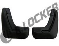 Брызговики Opel Astra H sedan (07-) (Опель Астра) (2 шт) задние (Lada Locker)