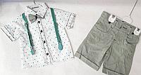 Летний костюм для мальчика от 1 до 3 лет.