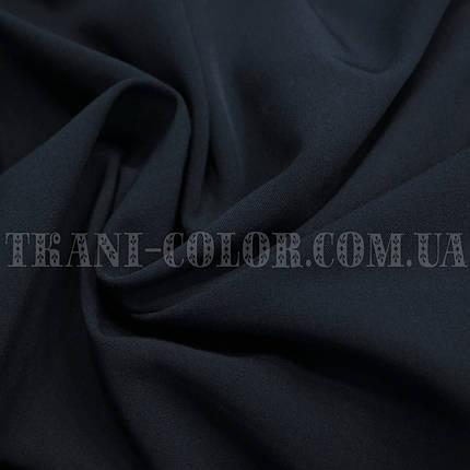 Костюмная ткань тиар темно-синяя, фото 2