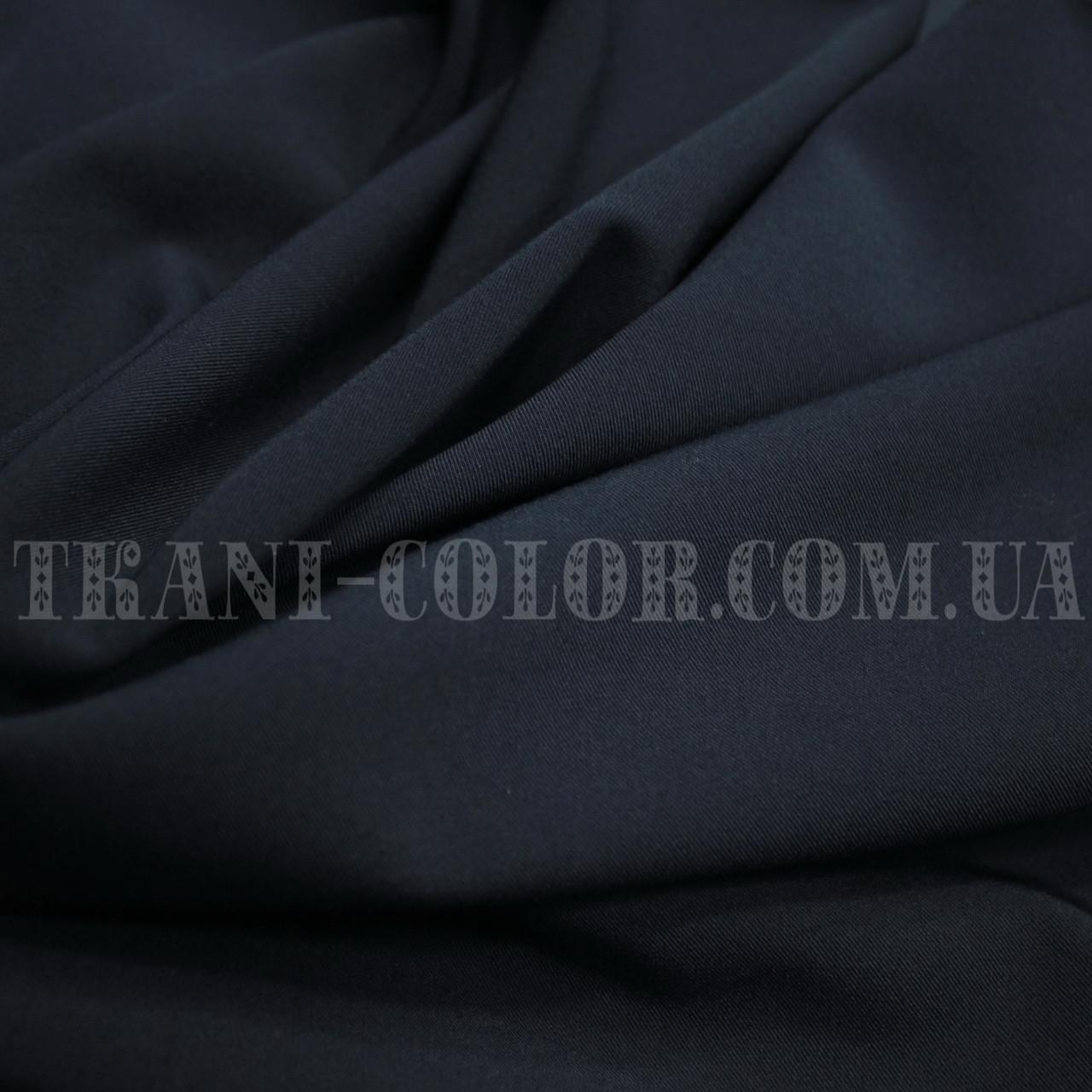Костюмная ткань тиар темно-синяя