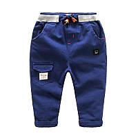 Мягкие брюки для мальчика, код (38019) в наличии: 100 см,110 см,120 см,140 см