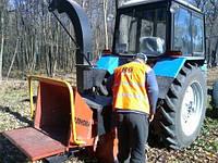 Услуги дереводробильной машины