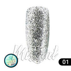 Гель краска Global Fashion Shine Spektrum GL-01 5 мл