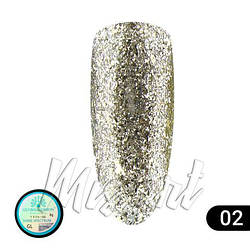 Гель краска Global Fashion Shine Spektrum GL-02 5 мл