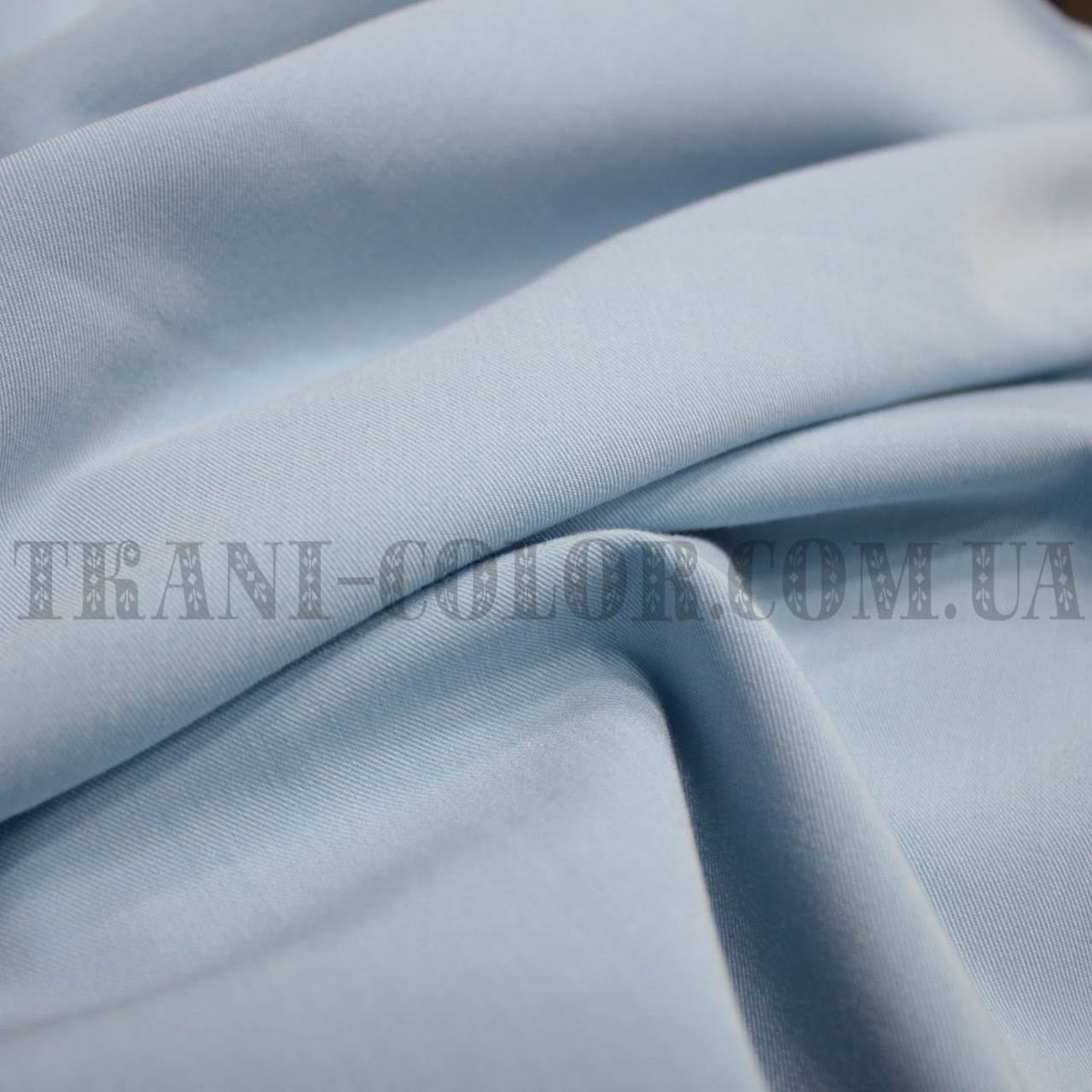 Костюмная ткань тиар голубая