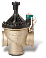 """Электромагнитный клапан 3"""" 300-BPES ВР, латунь+пластик, с регулятором расхода, самоочистка, соленоид 24В - Rain Bird"""