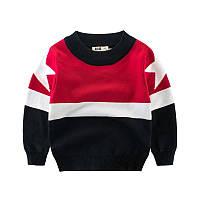 Теплый детский свитер для мальчика, код (37870) в наличии: 90 см,100 см