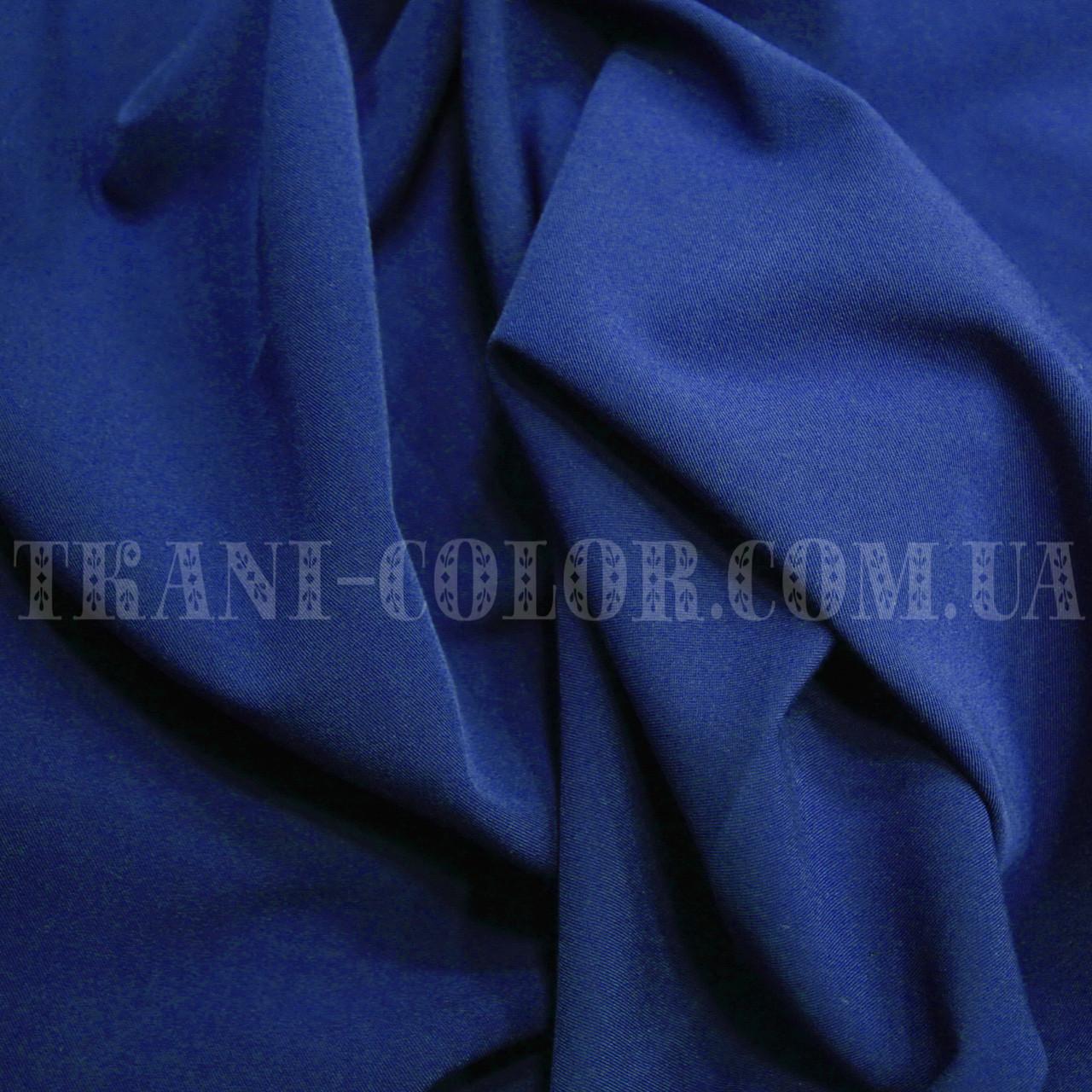 Костюмная ткань тиар синий электрик