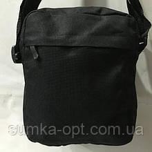 Текстильные барсетки (черный)19*23