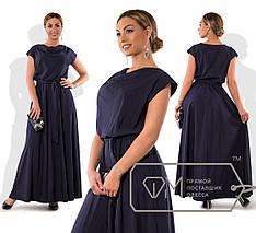 Длинное летнее платье, батал, фото 2