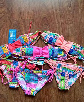 Яркий детский купальник для девочки, фото 2