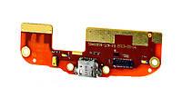 Шлейф HTC 300/500 Desire коннектора зарядки и микрофона, с компонентами
