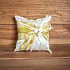Подушечка для колец в золотых тонах (арт. CR-016)