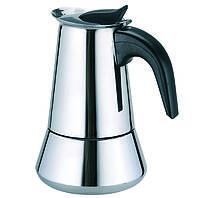 Кофеварка гейзерная Maestro MR-1660-4 (200мл) (на 4 чашки)