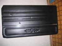 Карты дверей ВАЗ 2106 дермантин (завод.) с молдингом (черные)