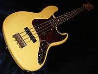 Бас-гитара Fender Deluxe Active jazz bass vintage white