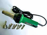 Фен для сварки и ремонта пластика аналог Leister triac с насадками