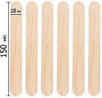 Шпатель деревянный косметологический №100 шт, фото 1